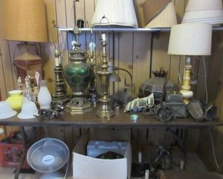 lamp and lamp parts