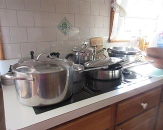 Revere pots and pans