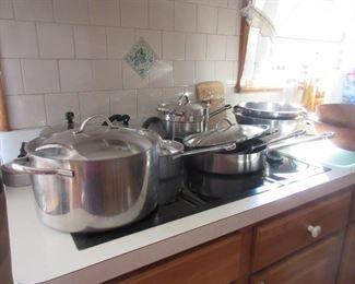 Revere pots and pans