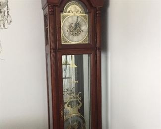 Beautiful Howard Miller Grandfather clock. Must see.