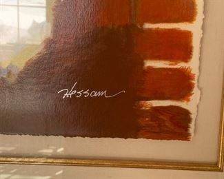 Art by Hessam signed and numbered (235/295)