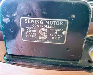Singer Sewing Machine Motor
