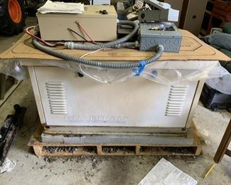 2002 Generac Guardian Model 04109-3 8kw generator  was in working condition when removed