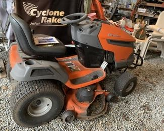 "2008 Husqvarna riding Mower with 48"" deck                              Model # 2348LS"