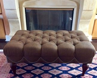 Elegant Upholstered Bench.