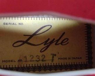 Lyle Model 1232T