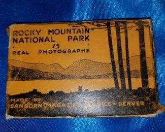 Sanborn Magazine Rocky Mountain National Park 15 real photos