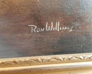 Ron Williams signature