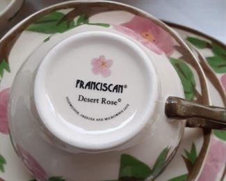 Franciscan Desert Rose China dishwasher safe