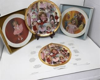 Three Shirley Temple collectible plates https://ctbids.com/#!/description/share/325579
