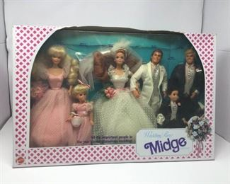Wedding Party Barbie Midge Gift Set https://ctbids.com/#!/description/share/325580