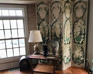 Paint Decorated Screen