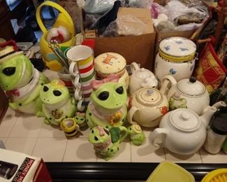 frog and teapot party
