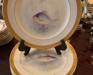 Rare Lenox fish plates
