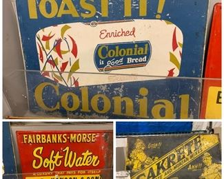 Colonial Bread sign
