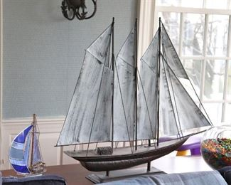 Decorative Models of Sail Boats