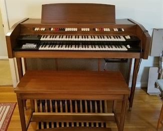 Organ with bench works great