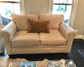 Two-Cushion Love Seat