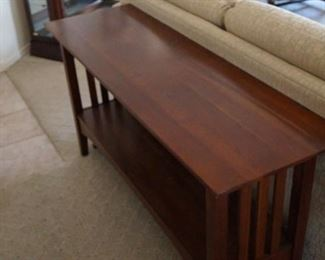 Ethan Allen Sofa/Entry Table
