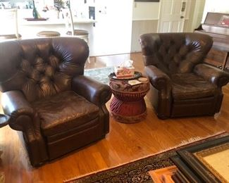 leather recliners Restoration Hardware