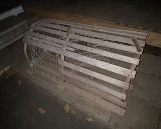 Wood Lobster Trap