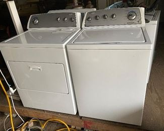 Match set Whirlpool Washer & Dryer