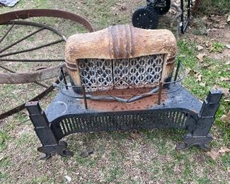 Antique Iron Heater