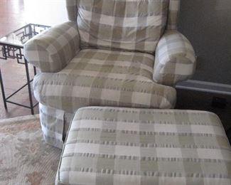 Chair & Ottoman...