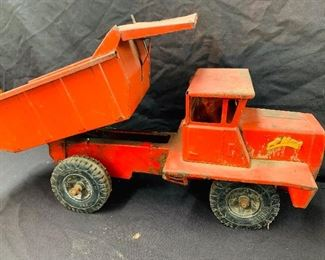 Buddy L RED Large dump truck