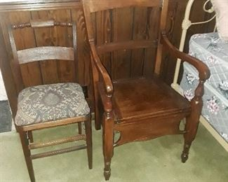 Antique potty chair, very solid, excellent condition