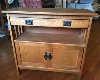 Newer Arts and Crafts Style Cabinet