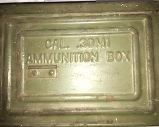 WW II Vintage 30M1  Ammo Box