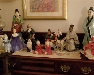 Royal Doulton figures and more