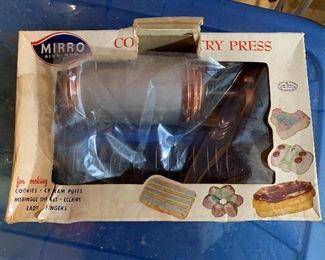 Vintage Cookie Press