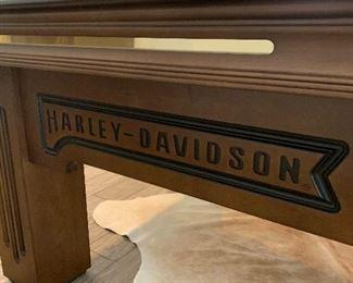 Harley Davison pool table