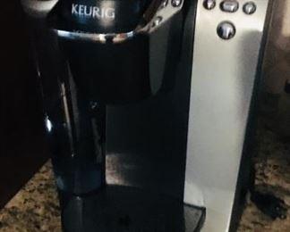 Keurig coffe maker hardly used