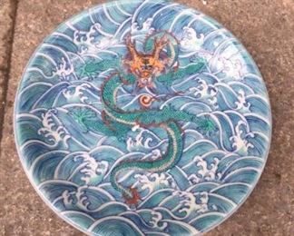 chinese antique with dragon