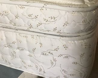 Cal king mattress in new condition, look like never used