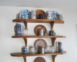 Steins Wooden Plates