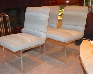 3 Contemporary Chairs