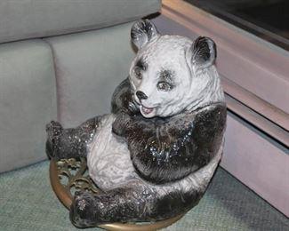 Panda Ceramic Decorative Piece
