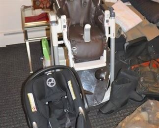 Car Seats and High Chair