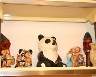 Panda Cookie Jar, Hummels and Bric-A-Brac