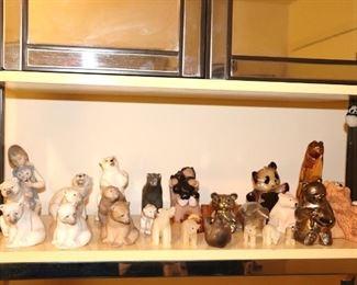 Lladro and Animal Figurines
