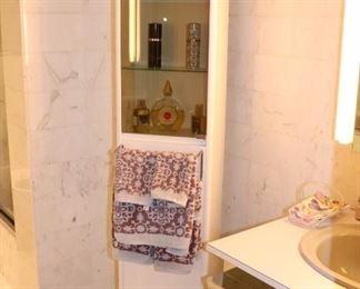Mirrored Swivel Cabinet