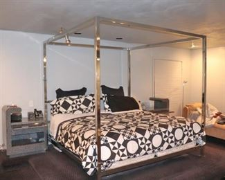 Modern 4 Poster Canopy Bed