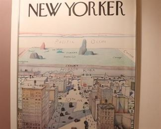The New Yorker Framed Poster - 9th Ave