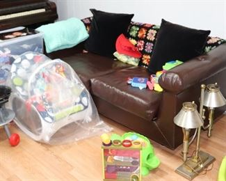 Small Sofa and Toys with Lamp