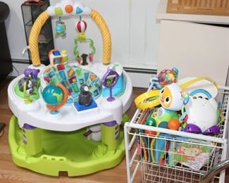 Play Seat with Toys