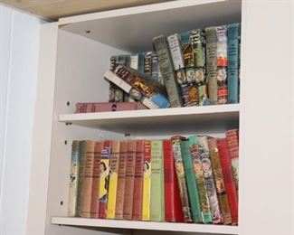Teen Reading, some Vintage - Mystery Books and others